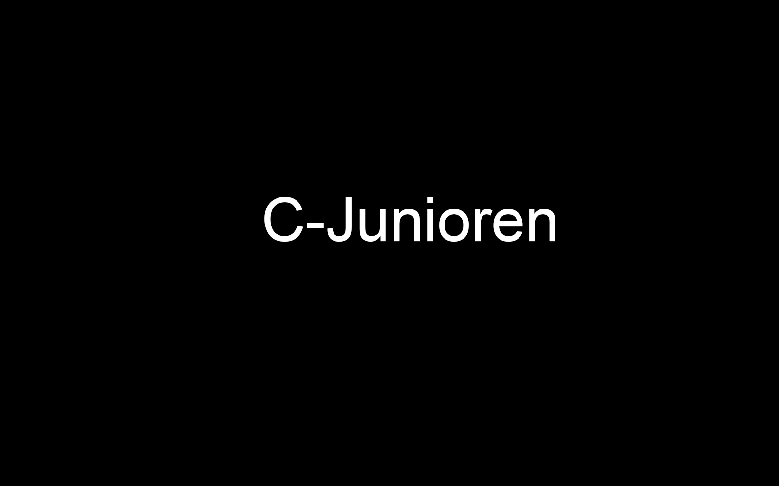 C-Junioren II